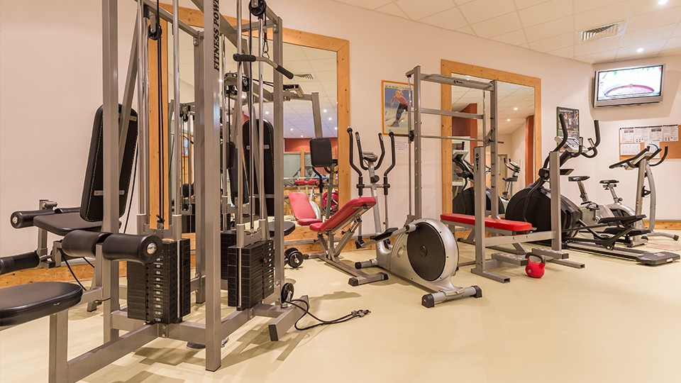 Fitness Area, Residence Le Machu Pichu, Val Thorens, France