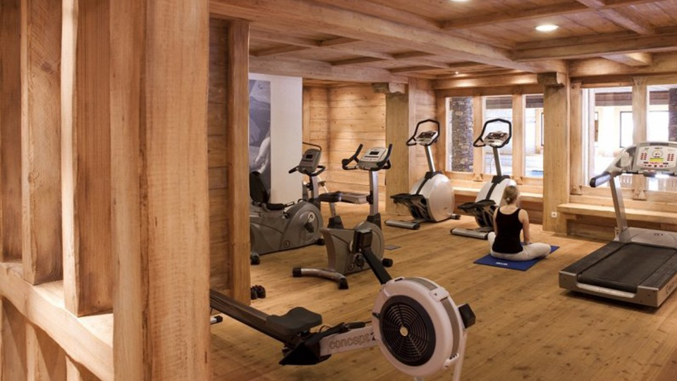 Fitness Area, Residence Les Fermes du Soleil, Flaine, France