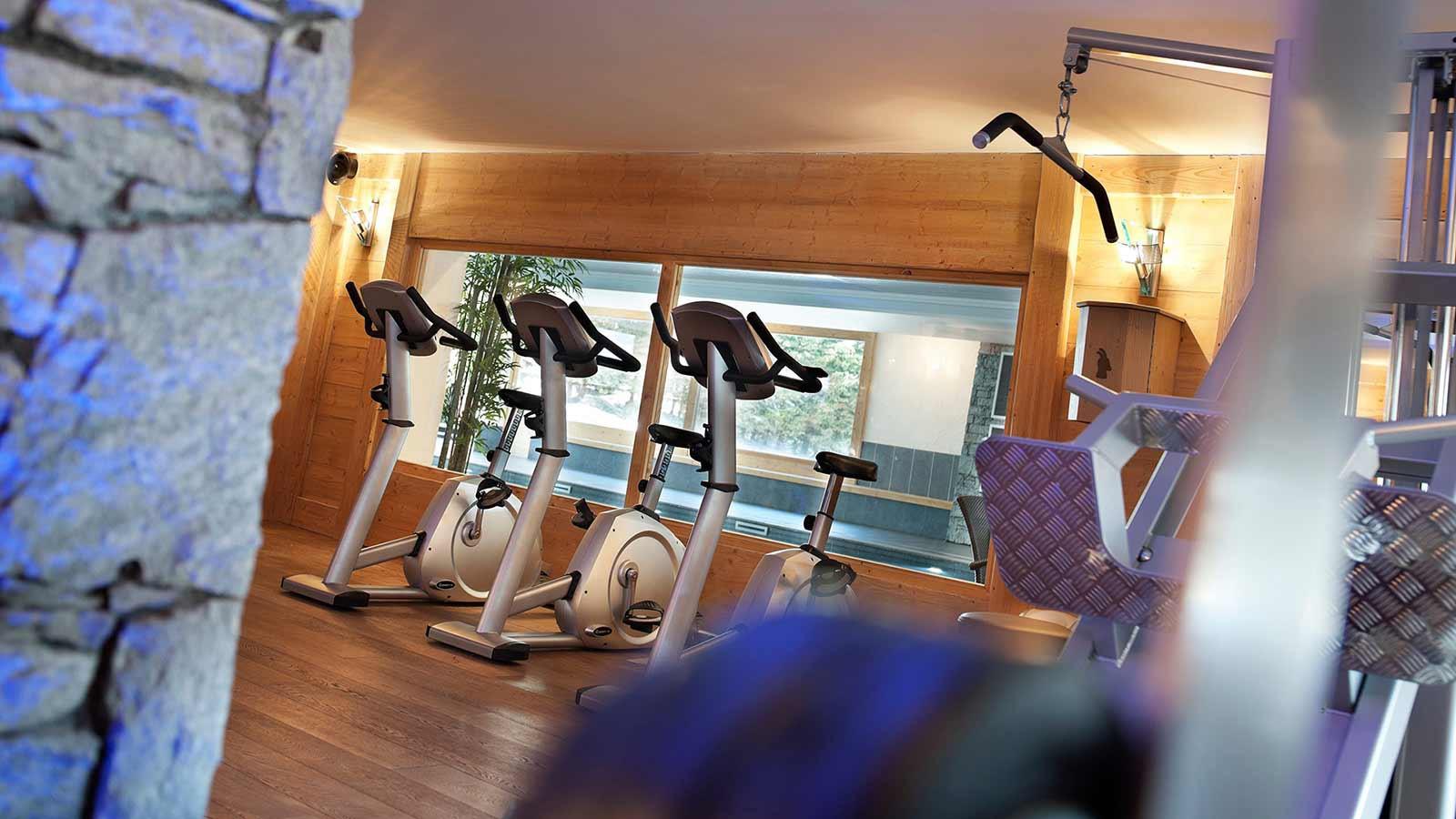 Fitness area - CGH Les Chalets de Jouvence