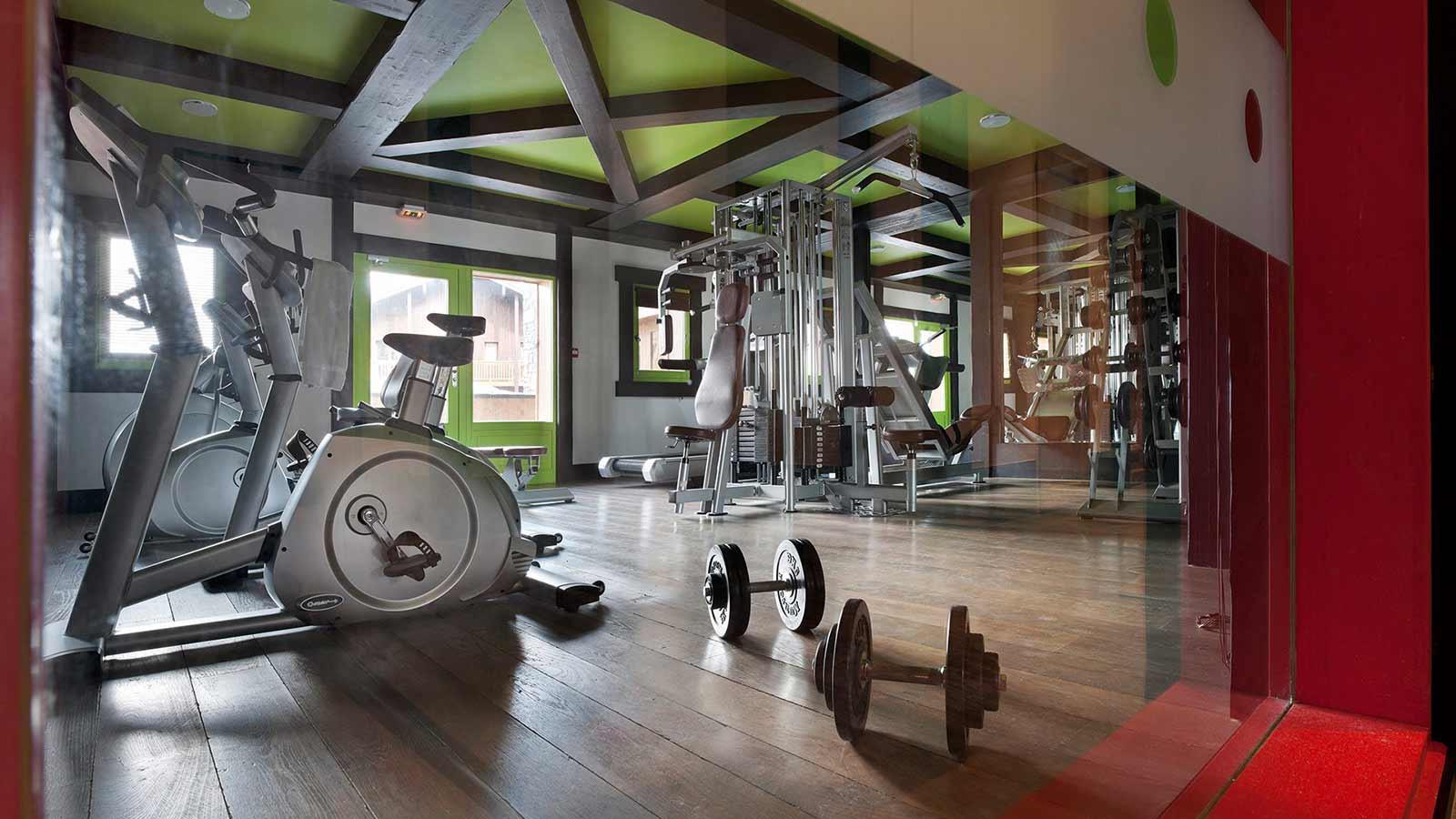 Fitness Room, Le Telemark, Tignes, France