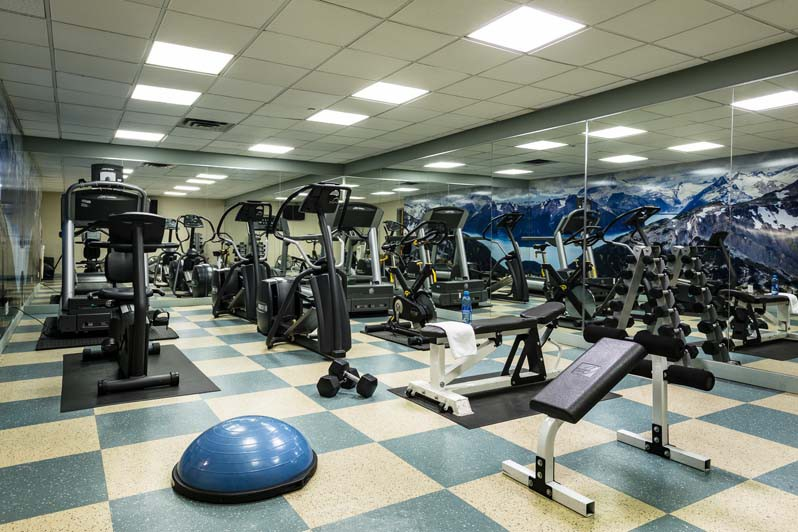 Crystal Lodge, Whistler, Canada, Fitness Room