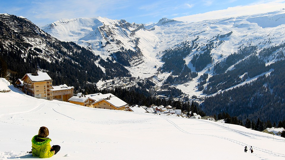 Flaine Ski Resort in France