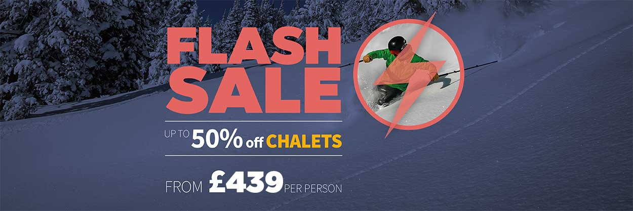 Up To Half Price Ski Holidays