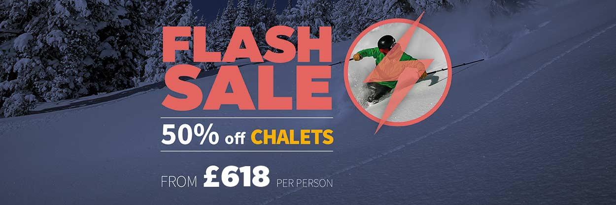 Up To Half Price Ski Holidays