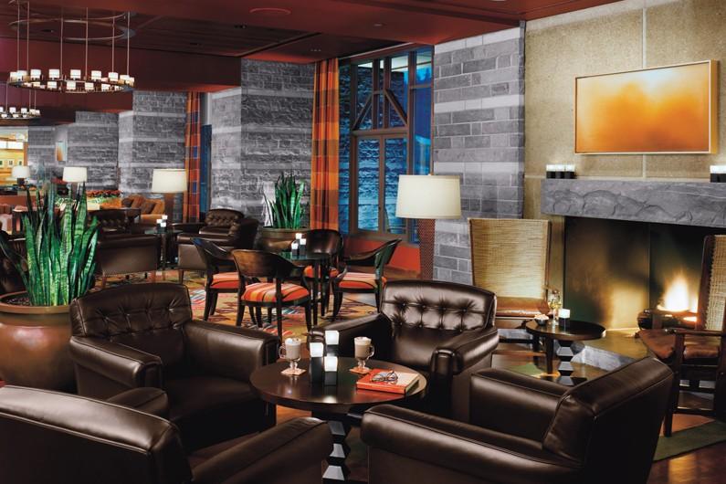 Lounge area - Four Seasons Resort Whistler, Canada