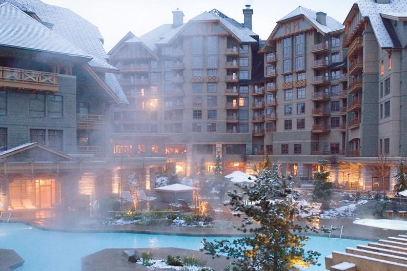 Pool - Four Seasons Resort Whistler, Canada