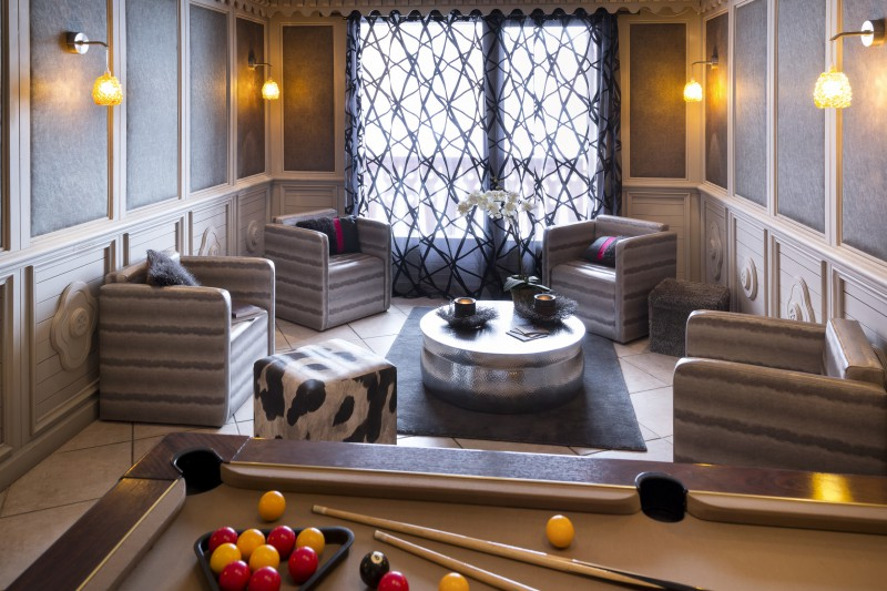 Games room in Village Montana - Self-catered ski apartment - Val Thorens, France
