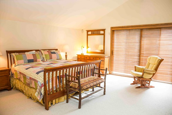 Master Bedroom in Chalet Gleneagles, Vail, Ski Chalet in Vail, USA