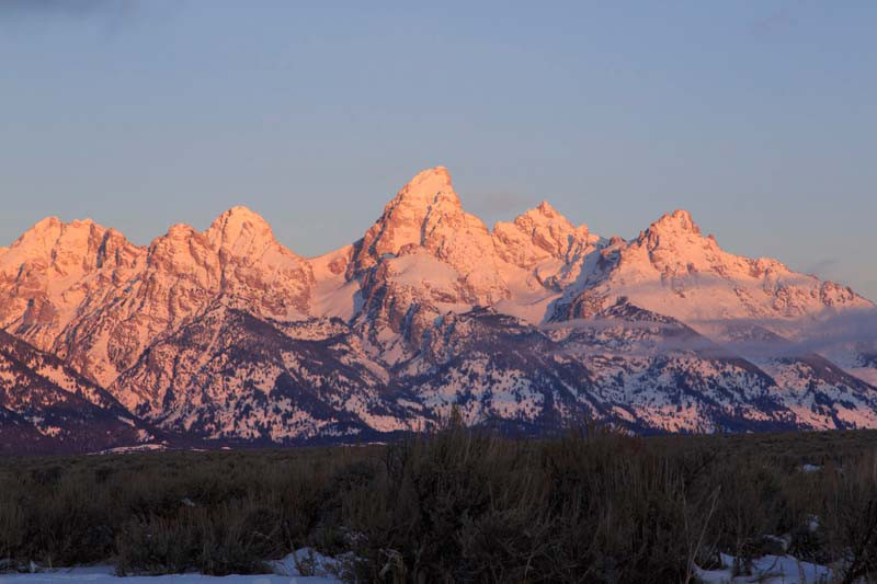 Great Teton Mountains, Jackson Hole, USA