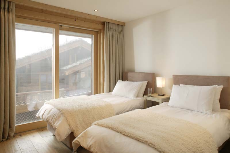 Chalet Hautes Cimes bedroom