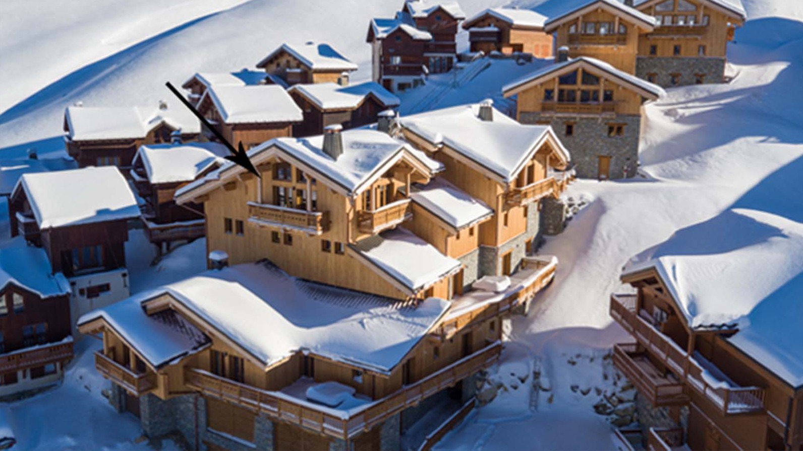 Exterior - Chalet Hepatica - Ski Chalet in La Plagne, France