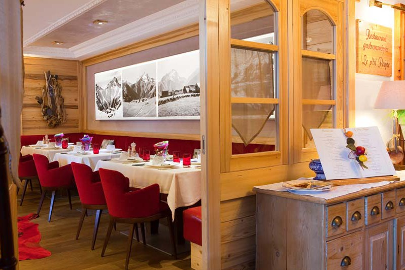 Hotel Chalet Mounier, restaurant, Les Deux Alpes
