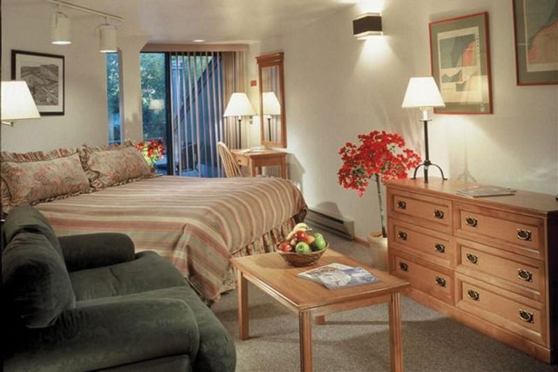 Hotel Aspen Mountain Lodge bed, Aspen