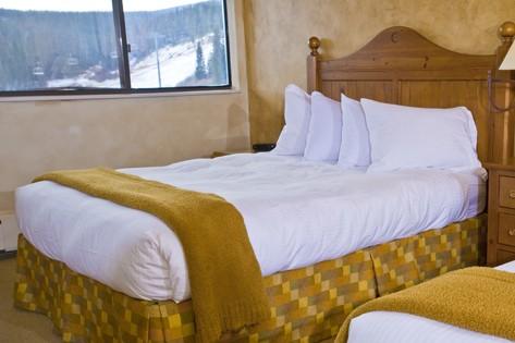 Hotel Condo Beaver Run bedroom, Breckenridge