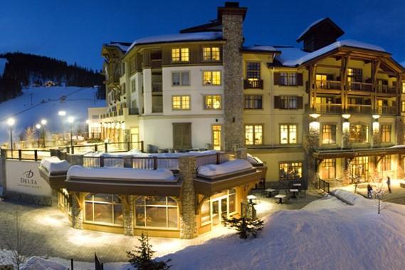 Hotel Delta Sun Peaks Resort, ext, Sun Peaks