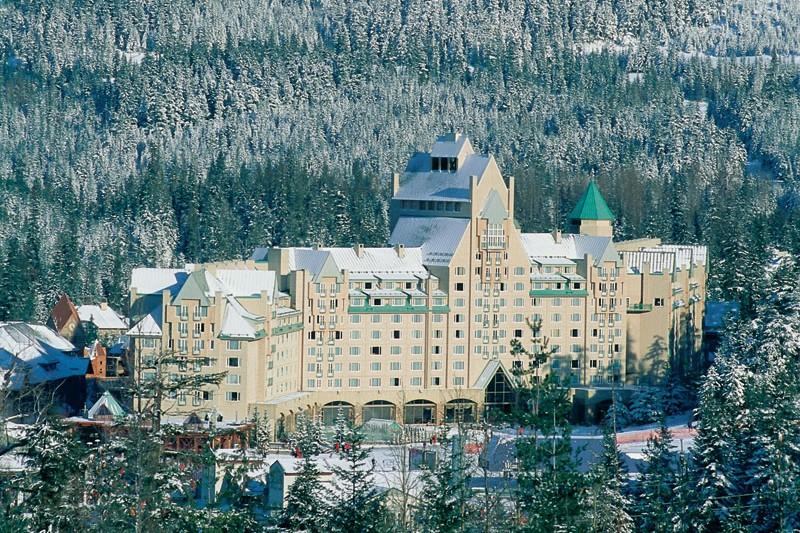 Hotel Fairmont Chateau Whistler, ext, Whistler