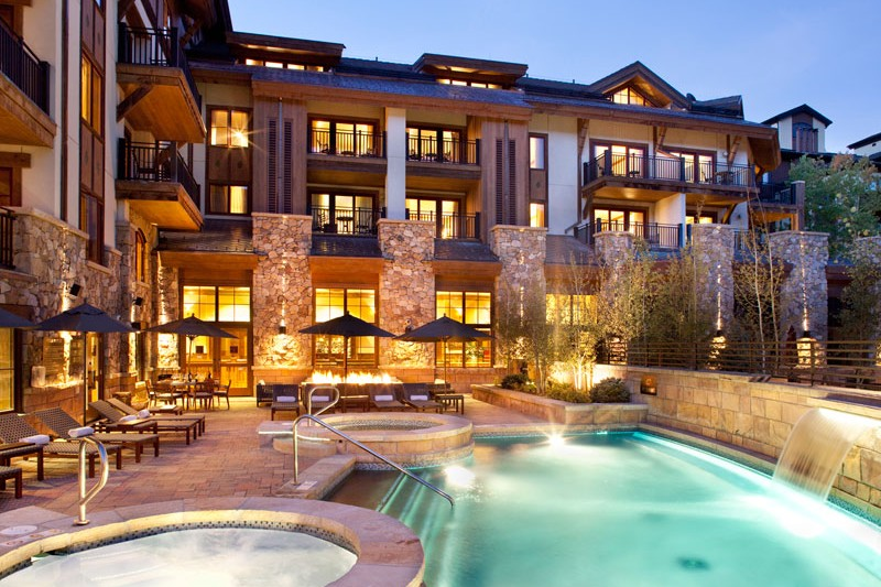 Hotel Sebastian pool, Vail