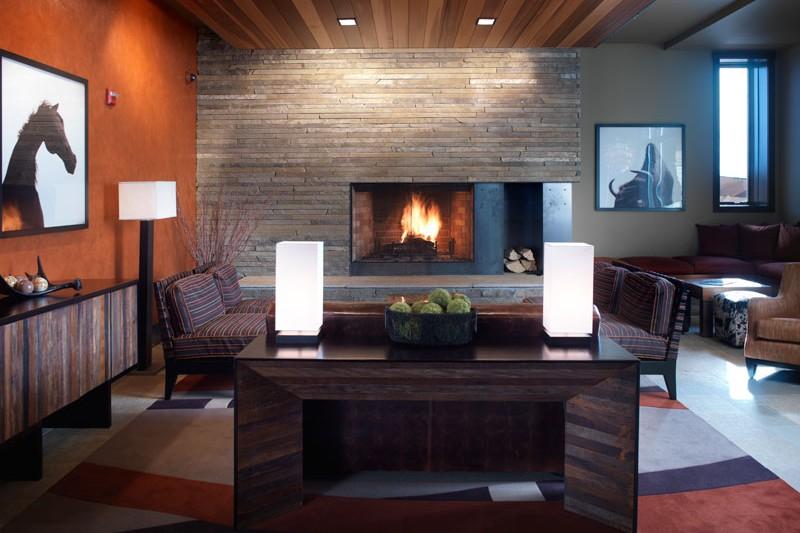 Hotel Terra lounge, Jackson Hole