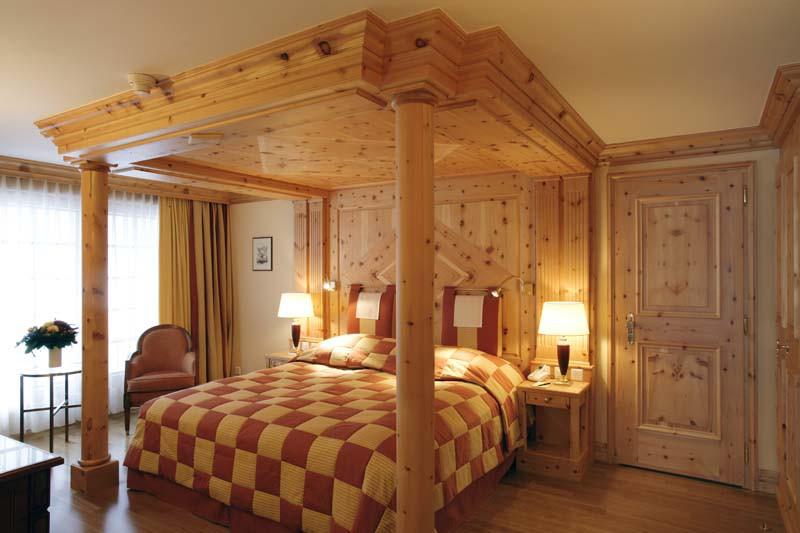 Hotel Zermatterhof, bedroom