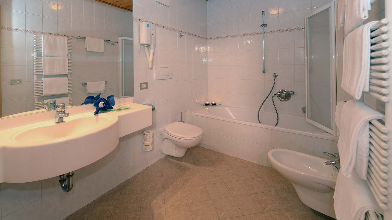 Hotel Alpin Haus, Selva Val Gardena - Bathroom - Comfort Room