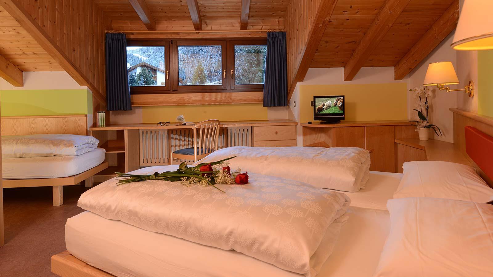 Hotel Alpin Haus, Selva Val Gardena - Comfort Room 2