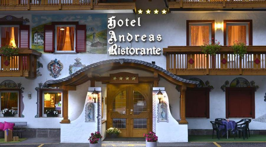 Hotel Andreas - Front