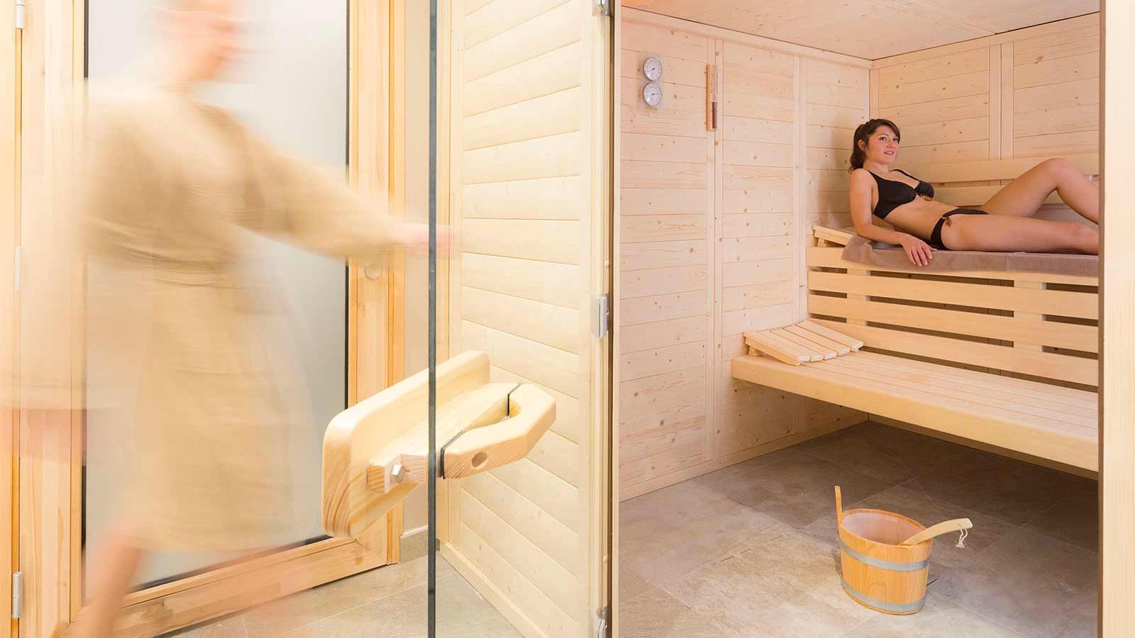 Hotel Club Les Arolles, ValThorens - Sauna
