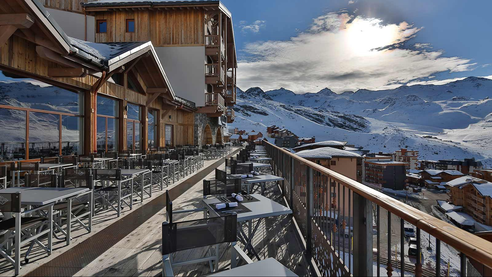 Hotel Koh-I Nor, Val Thorens - Terrace
