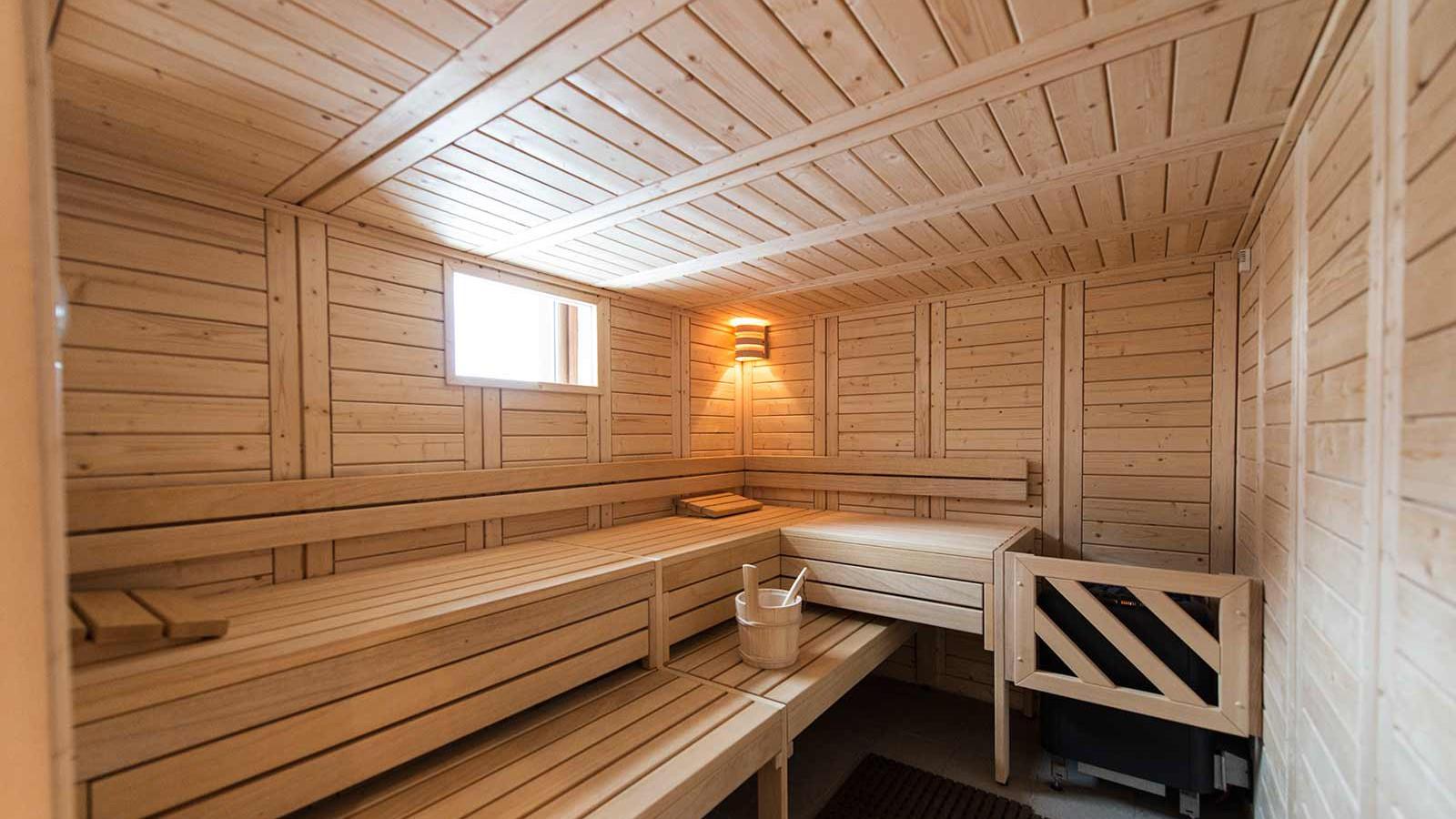 Hotel Le Hameau du Kashmir, Val Thorens - Sauna