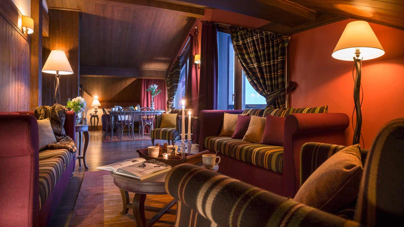 Hotel Le Hameau du Kashmir, Val Thorens - Suite