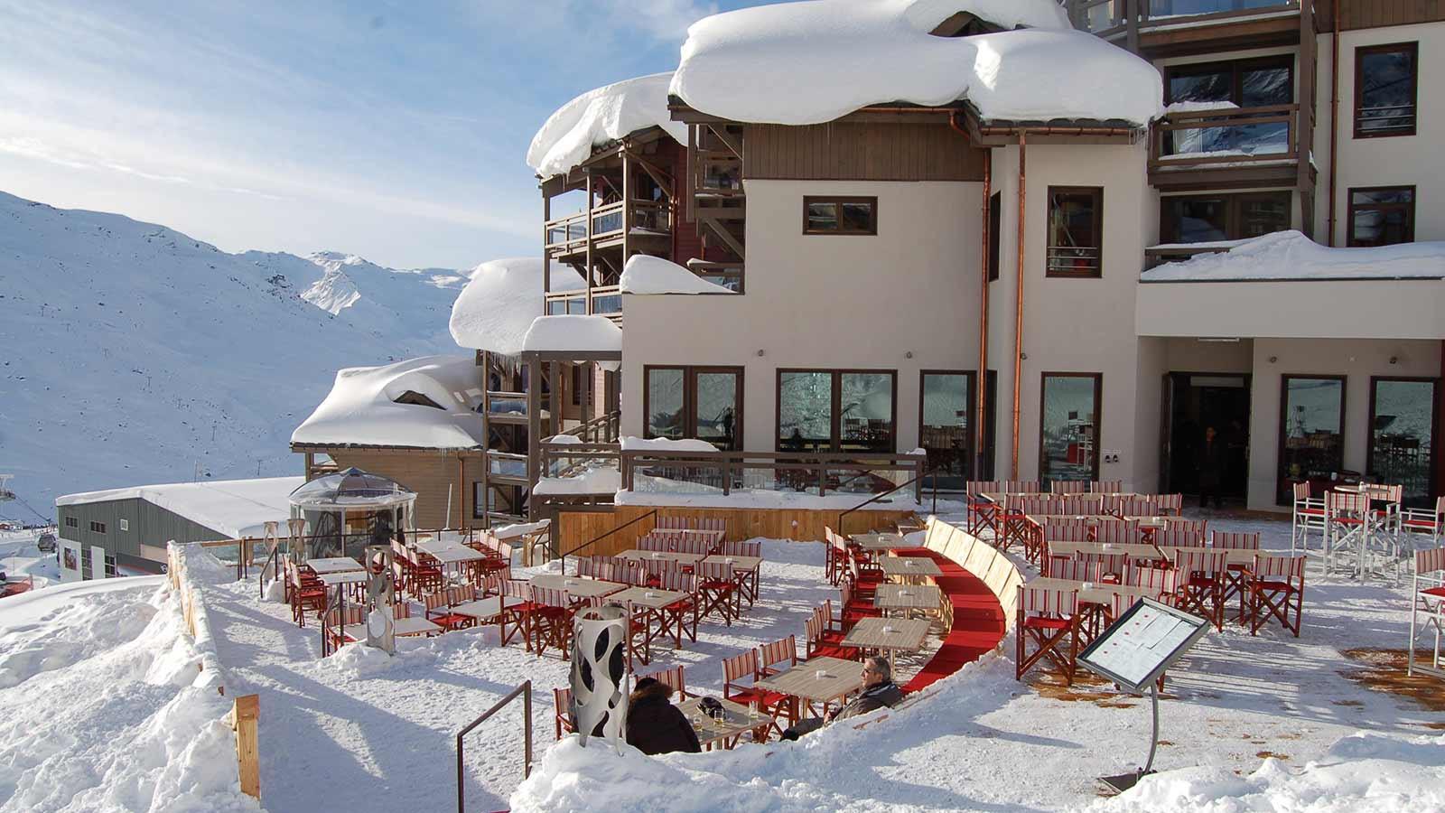 Hotel Le Hameau du Kashmir, Val Thorens - Terrace