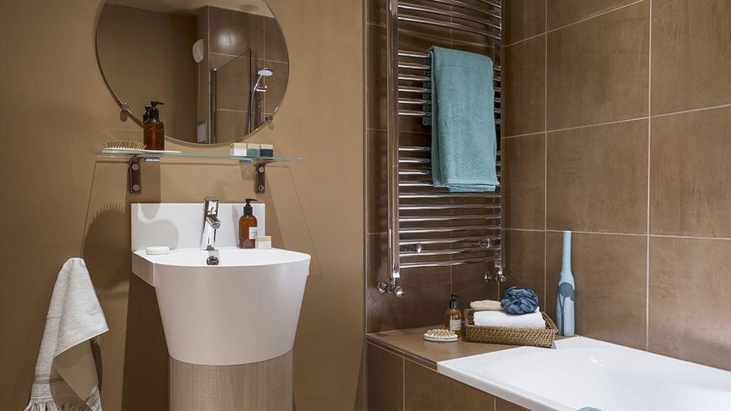 Hotel Le Taos, Tignes - Bathroom