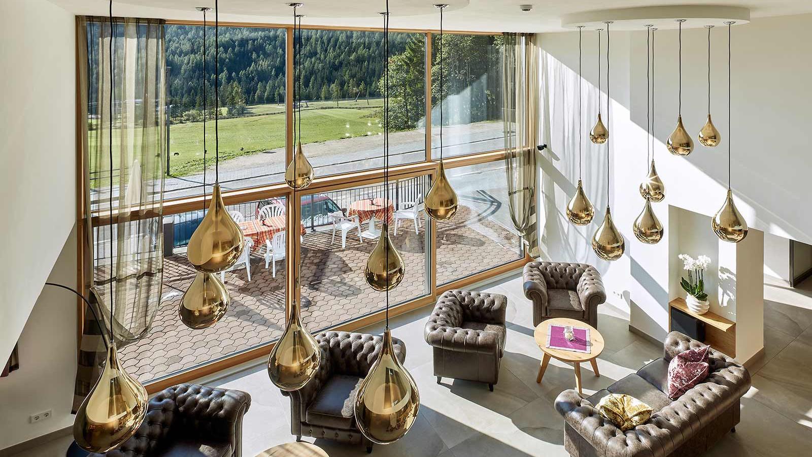 Hotel Mezdi, Corvara and Colfosco - Lounge