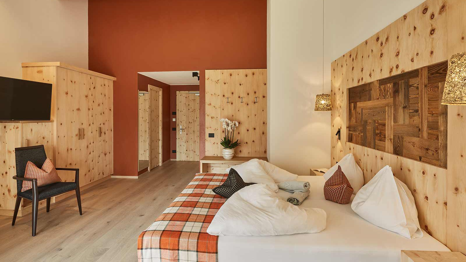 Hotel Mezdi, Corvara and Colfosco - Rooms