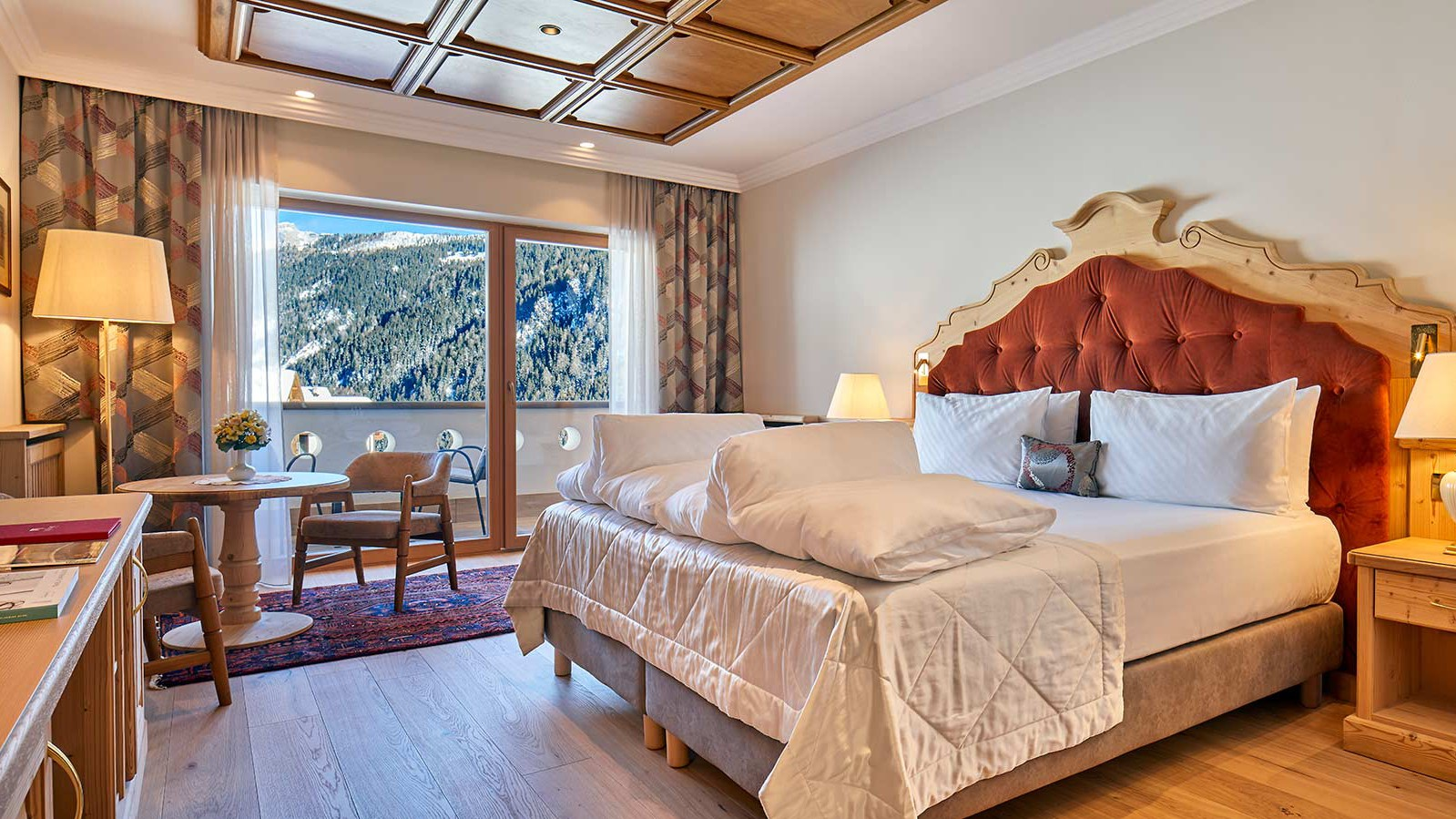Hotel Sassongher, Corvara and Colfosco - Deluxe Room