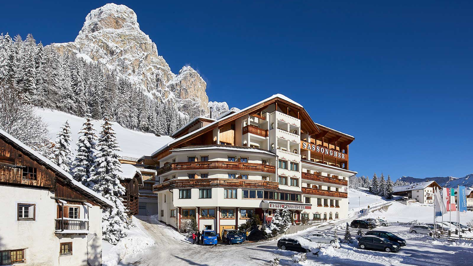 Hotel Sassongher, Corvara and Colfosco - Exterior