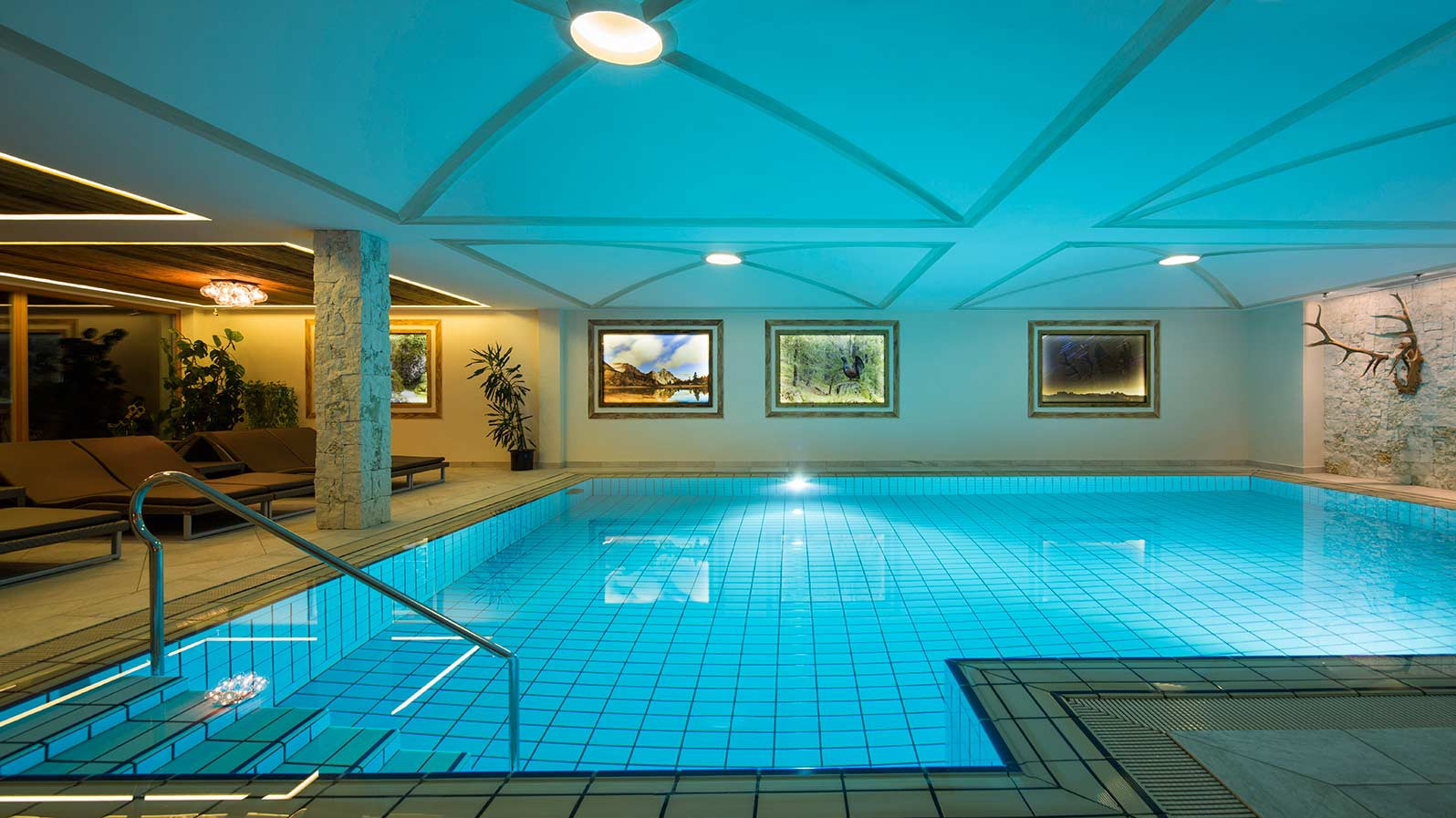 Hotel Sassongher, Corvara and Colfosco - Indoor pool