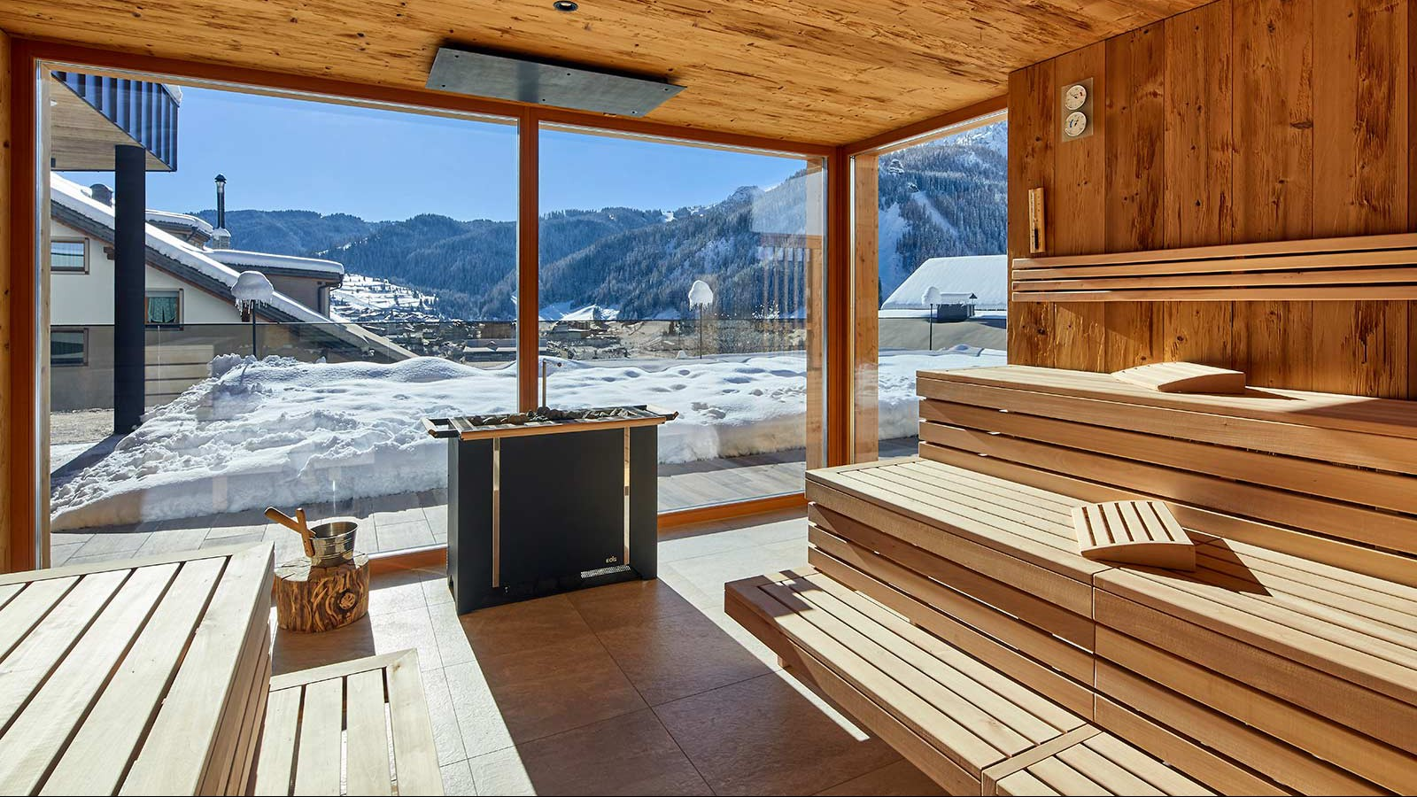 Hotel Sassongher, Corvara and Colfosco - Sauna