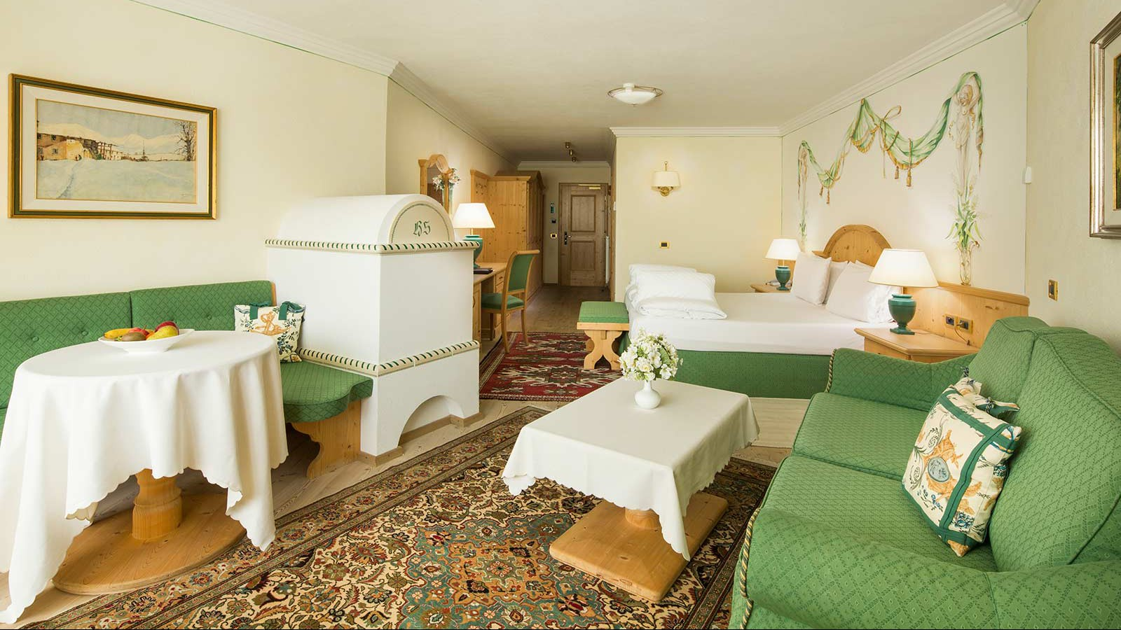 Hotel Sassongher, Corvara and Colfosco - Superior Room