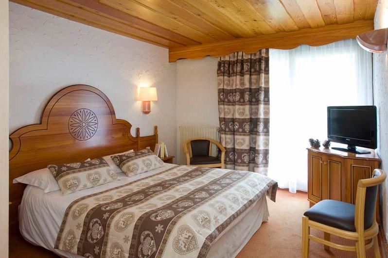Double Room in Hotel Souleil'Or, Les Deux Alpes, France