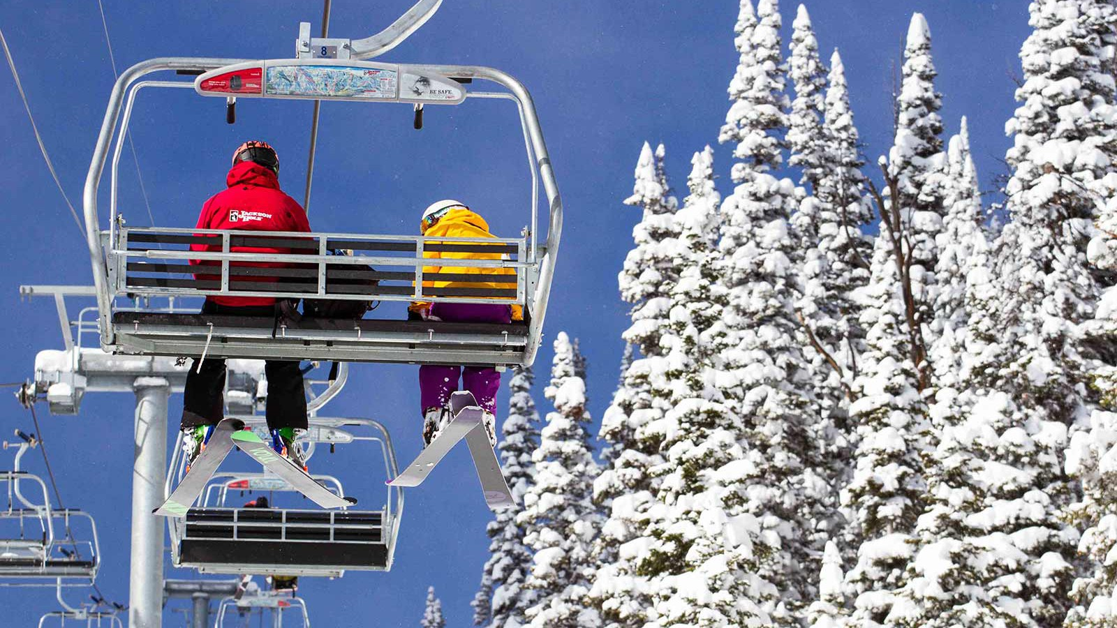 Jackson Hole Ski Resort, USA - lifts