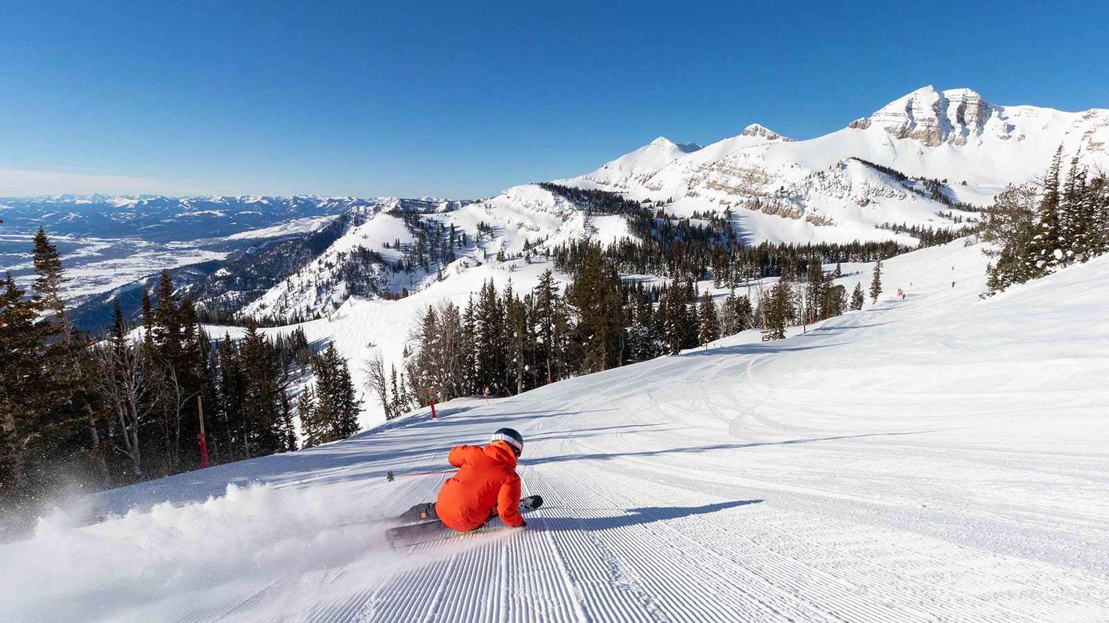 Jackson Hole Ski Resort, USA - Skiing and piste