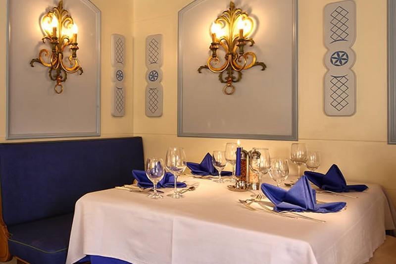 Hotel Kertess, St Anton - dining room