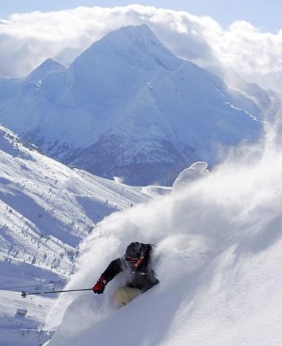 la plagne skier
