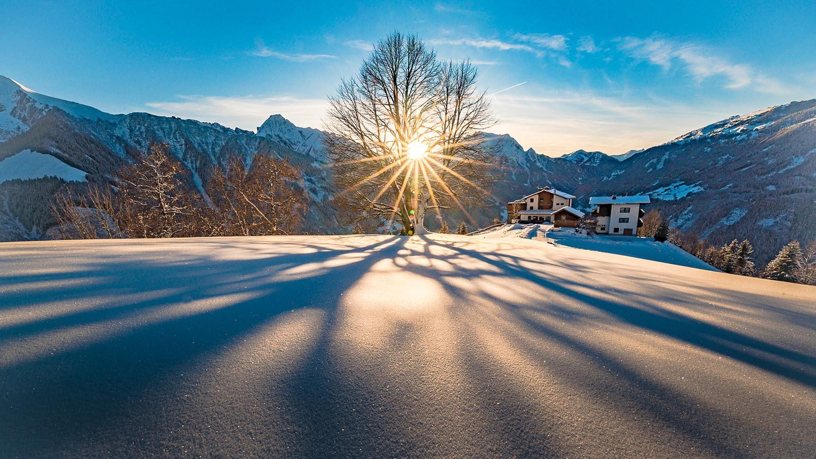 Landscapes in Mayrhofen