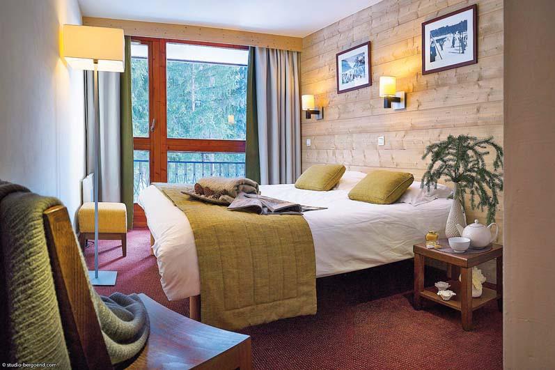 Le Belmont, Les Arcs, Bedroom