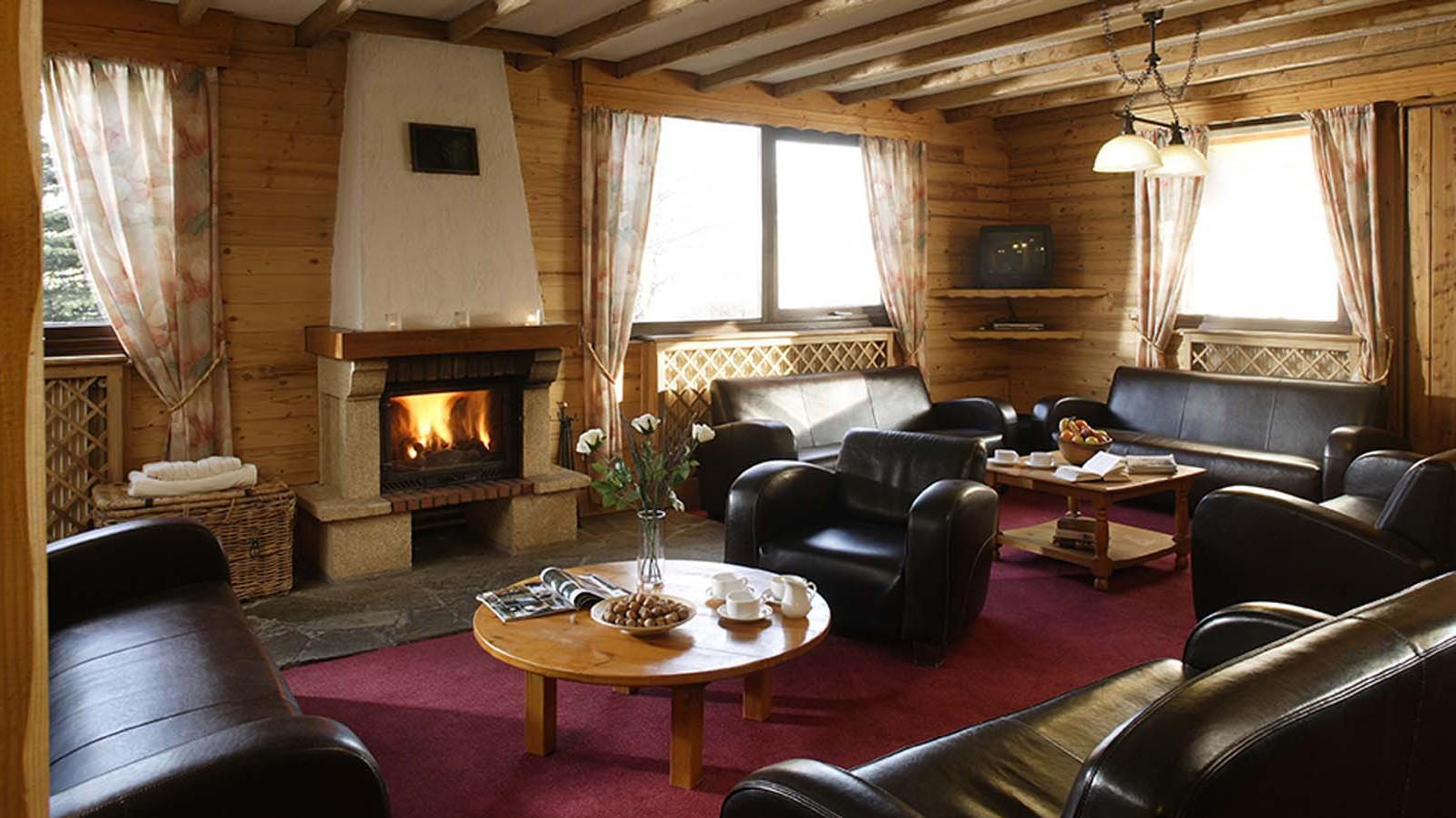 Chalet Les Eterlous int lounge, Alpe D'huez