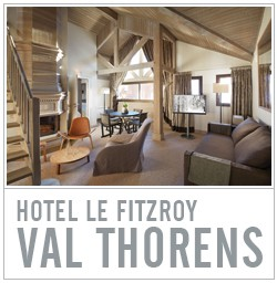 hotel le fitzroy val thorens