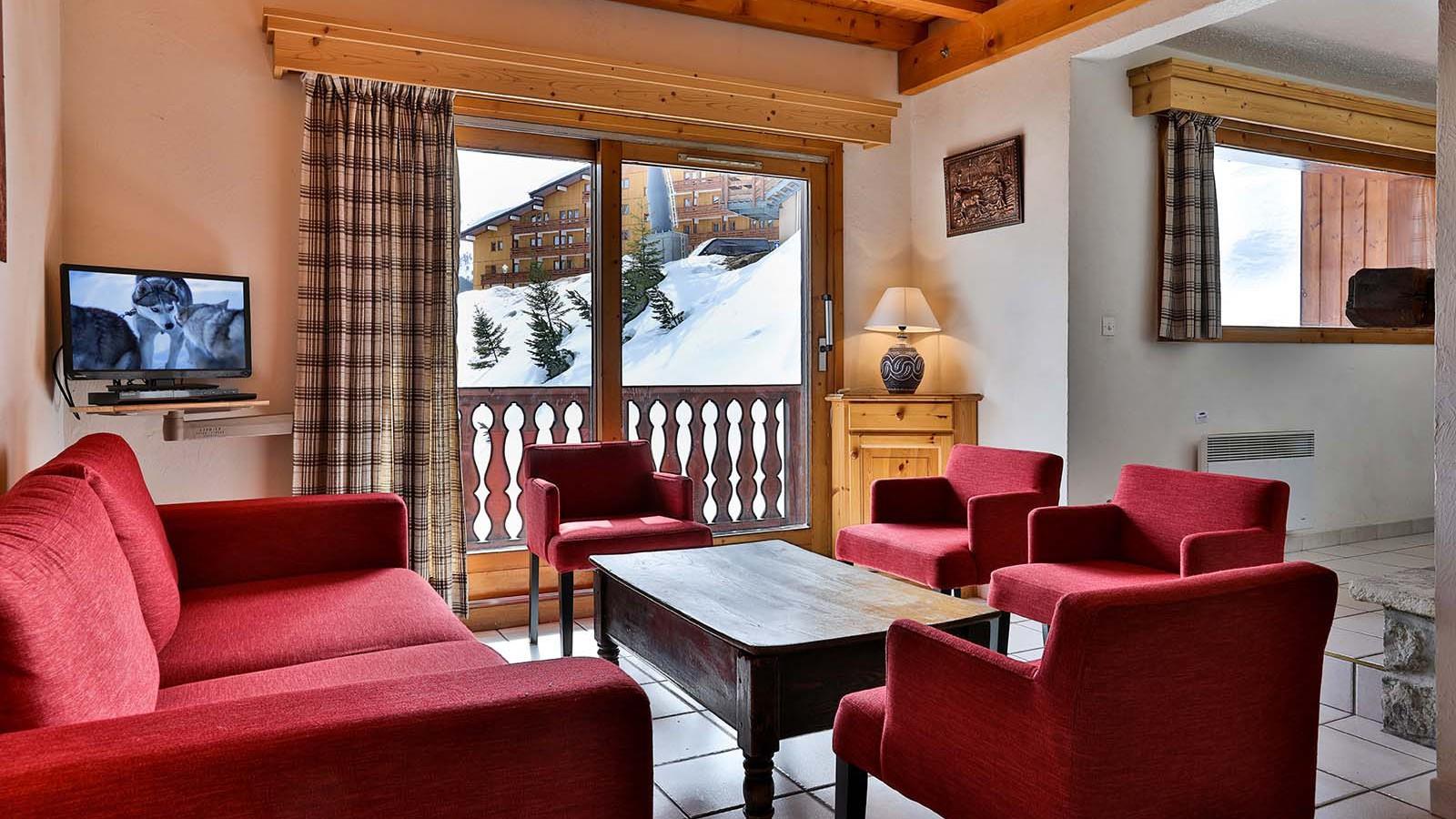 Living Area, Chalet Leopold, Meribel, France