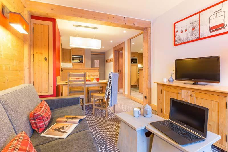 Les Crêts Apartments, Meribel, France, 1 Bedroom, 4 Person Standard Apartment